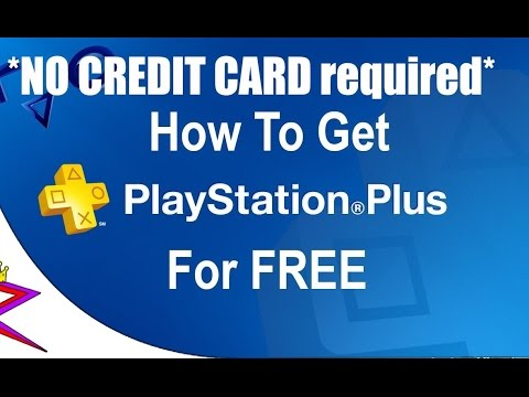 HOW TO GET FREE UNLIMITED PLAYSTATION/PS4 PLUS GLITCH (NO CREDIT CARD) 2016 - YouTube