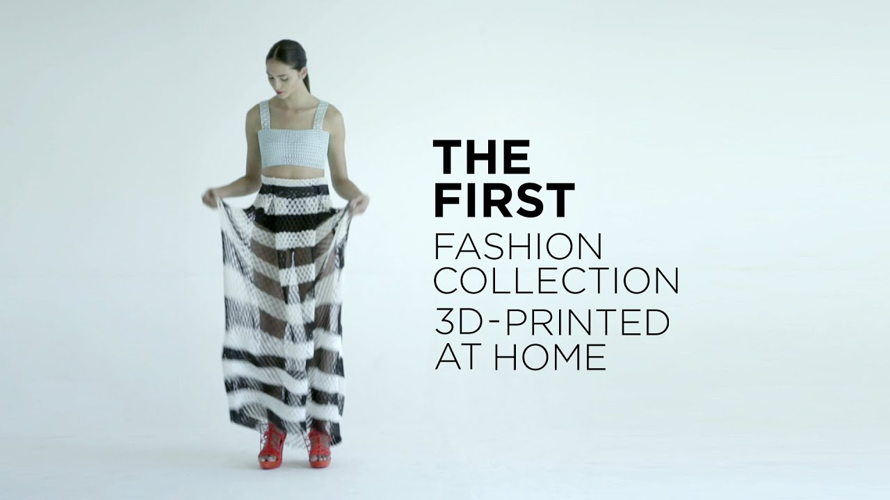 1e8ba973fa9 3D Printing Fashion  How I 3D-Printed Clothes at Home - YouTube