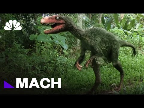 The Real-Life Dino Science Behind Jurassic World | Mach | NB