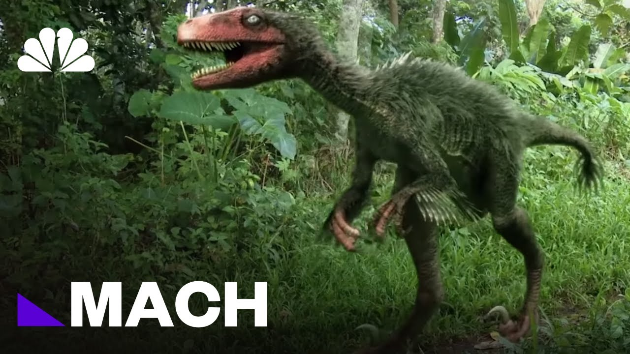 The Real Life Dino Science Behind Jurassic World Mach Nbc News Youtube
