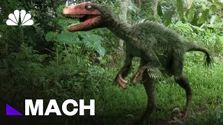 The Real-Life Dino Science Behind Jurassic World | Mach | NBC News