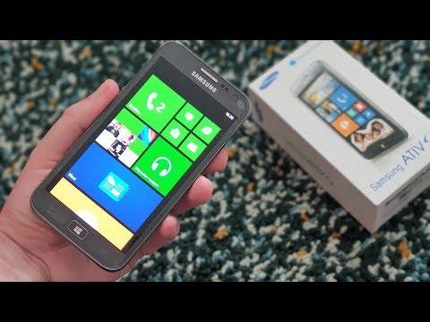Samsung Ativ S: Windows Phone по-корейски (2012) – ретроспектива!