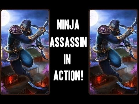 Heroes Charge Ninja Assassin In Action!