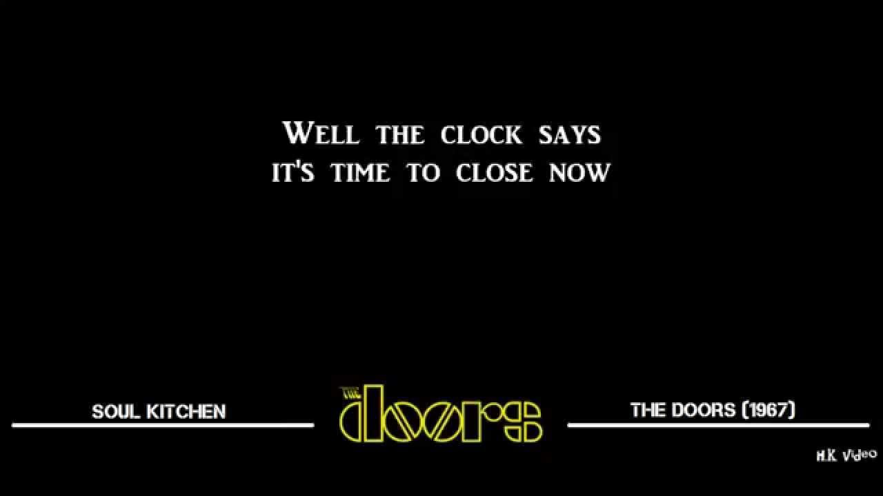 Lyrics For Soul Kitchen The Doors