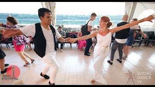 Boris & Natalia - Salsa social dancing at the 2018 The Third Front Salsa Festival