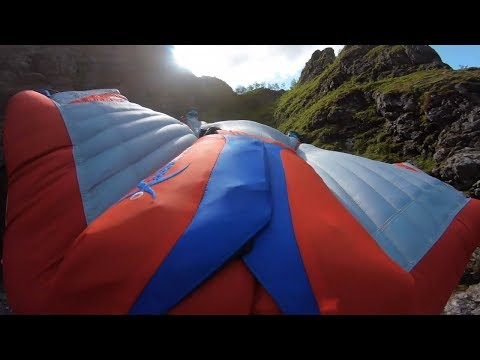 Mornings with Kevin O'Neill - Watch This Stunt:  Wingsuit Under Slackline