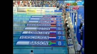 Biedermann besiegt Phelps in 200m Freistil in Rom mit neuem Weltrekord 1:51:51