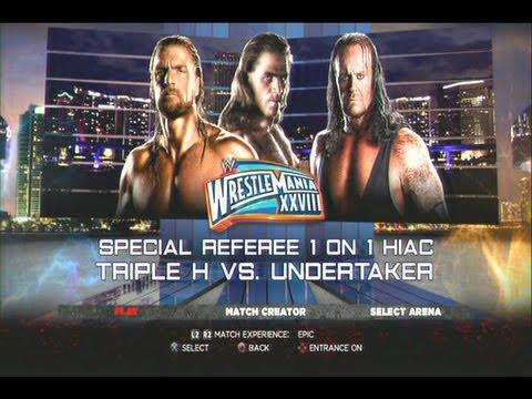 Full 28 wwe download triple vs undertaker wrestlemania video h