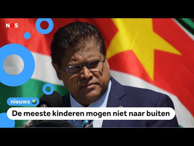Strenge lockdown in Suriname, Nederland stuurt hulp