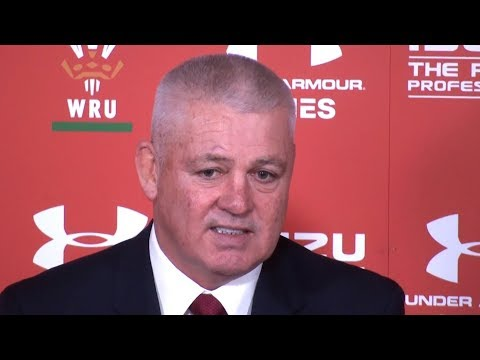 Wales v New Zealand - Warren Gatland & Alun Wyn Jones Post Match Press Conference