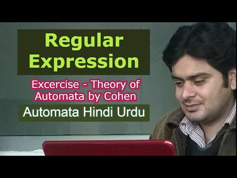 regular expression basic concepts in theory of automata in urdu hindi