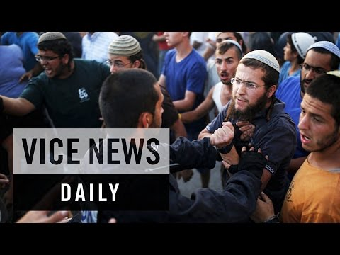 VICE News Daily: Jewish Settlers Clash with Israeli Police