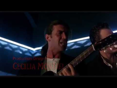 Antonio Banderas Singing & Playing Guitar  -  Desperado