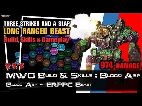 [BRxV] MWO Build & Skills : Long Ranged Blood Asp