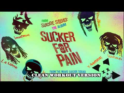 Suicide Squad: Sucker For Pain / CLEAN Version Workout Exercise Version