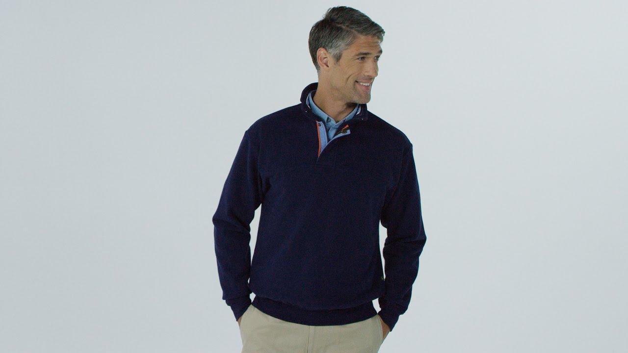 7428c3d48 ORVIS - Men's Signature Quarter-Zip Sweatshirt