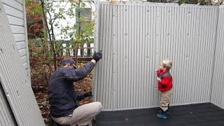 LIFETIME Shed Setup 6402 review install and tips