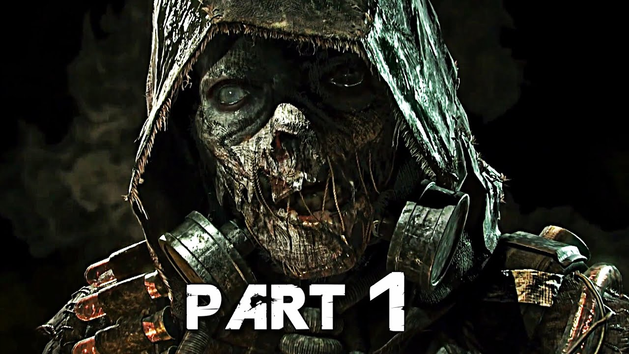 Batman Arkham Knight Walkthrough Gameplay Part 1 - Scarecrow (PS4)