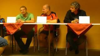 Pozápasová tisková konference FC Fastav Zlín - Bohemians 1905 0:1 (0:0)