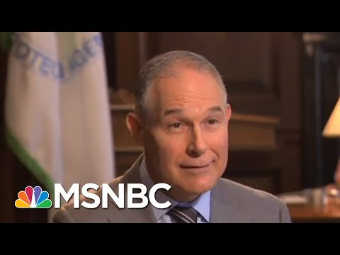 Scott Pruitt's Trump TV Friends Gave Him Questions | All In | MSNBC