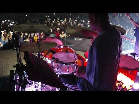 Let Go - Hillsong Young & Free   Live Drums With  Brendan Tan   Canada Tour