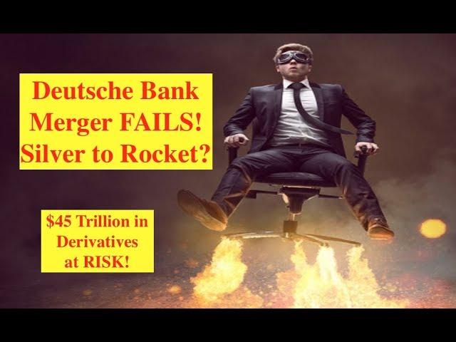 Deutsche Bank Merger Fails...Silver Volume Spikes!! (Bix Weir)
