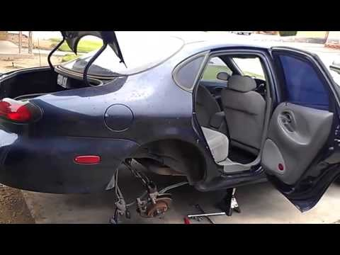 How to: Ford Taurus Rear Strut Install and Removal (Bent Strut)  YouTube