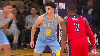 Lonzo Ball vs. John Wall: 1-on-1 game highlights for Lakers vs. Wizards | ESPN