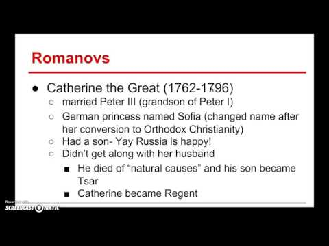 Peter & Catherine the Great