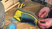 c728fcf38eb Vince Camuto Ranata Leather BlockHeel Laceup Sandal - YouTube