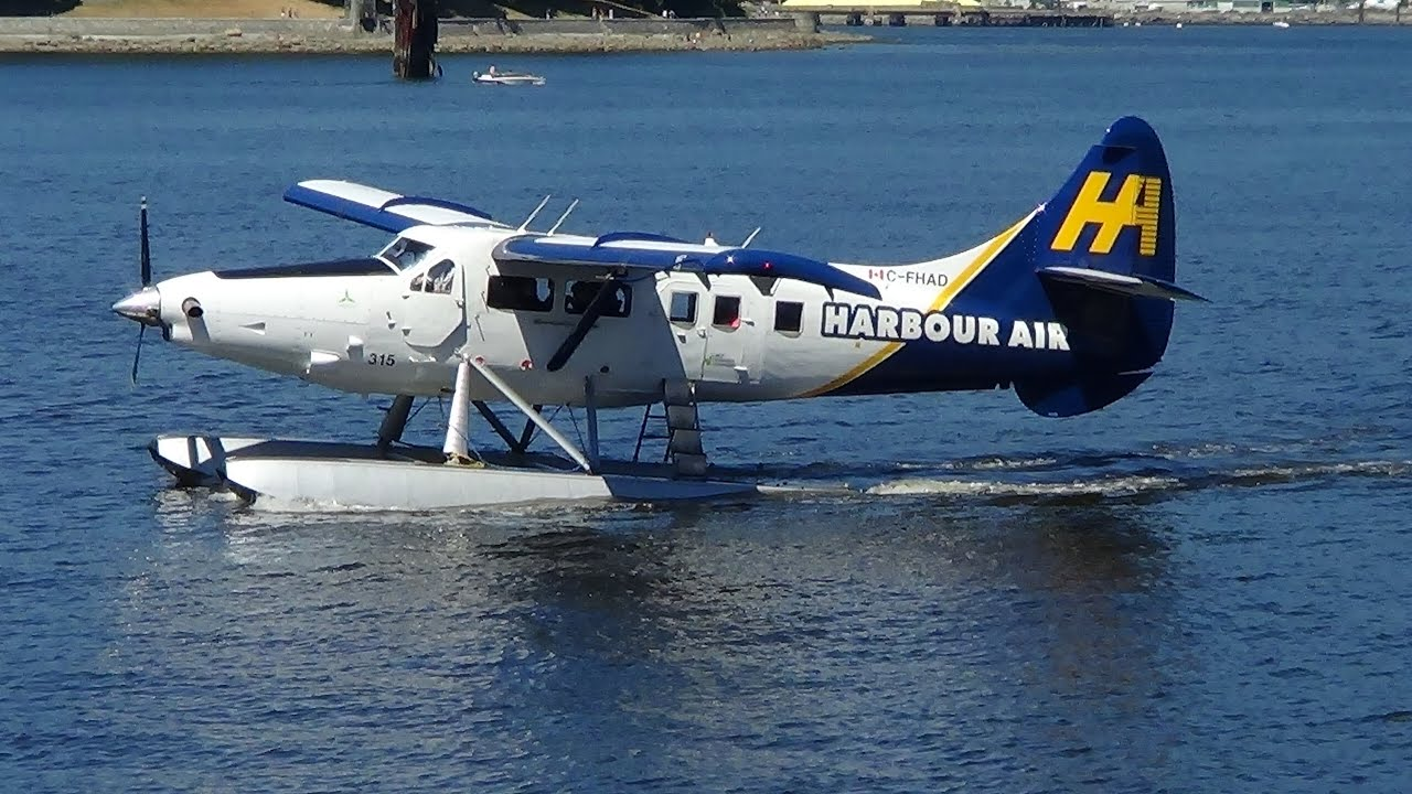 Seaplane Vancouver To Vancouver Island