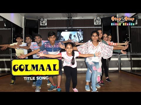Golmaal Title Track Dance | Easy Bollywood...
