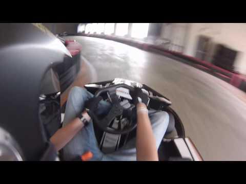 Unser Karting Denver Crash And Race