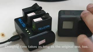 Telesin 3-Channel Charger & @ Batteries Kit | Lazada | Quality Item
