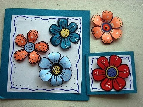 Diy colorful paper flowers for scrapbooking or card making how to diy colorful paper flowers for scrapbooking or card making how to make paper flowers mightylinksfo