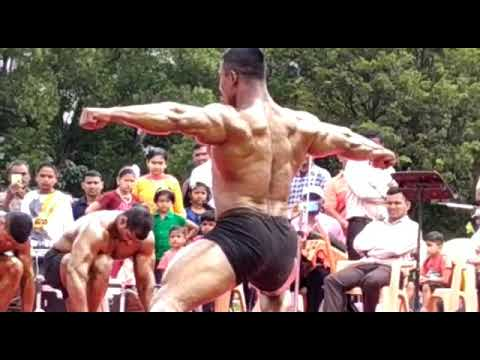 Mr. India Anooj &army Bodybuilder Arun(kerala)