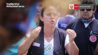Minsa trasladó a pacientes afectados por huaicos e inundaciones en La Libertad