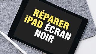 SOLUTION : iPad ne s'allume pas et s'affiche un écran noir