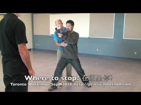 Taiji push hands seminar in Toronto