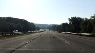 Massachusetts Turnpike (Interstate 90 Exits 10 to 11) eastbound