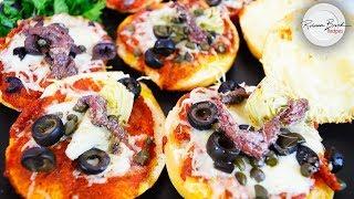 Pizza Bites of All Types  | Easy Kids Recipe