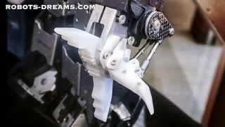 Yoshihiro Shibata - Thunderbolt Robot Gripper Design