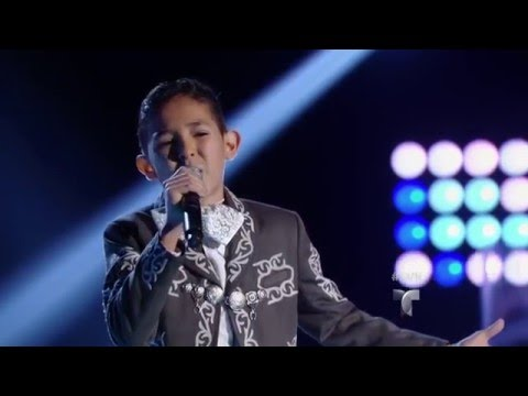 Isaac Torres canta 'Darte un Beso'  Audiciones  La Voz Kids 2016