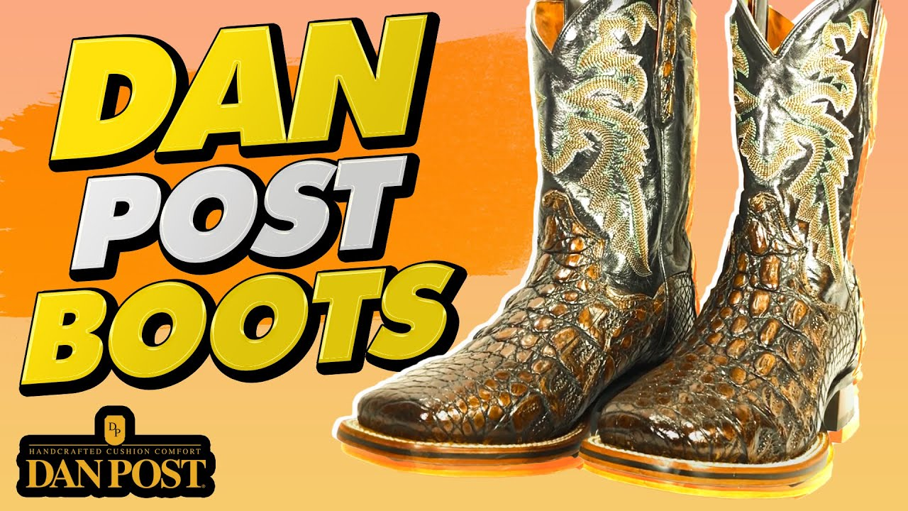 4bd7fc72d9f Dan Post Boots The Best Cowboy Boots Western Boots & Exotic Boots ...