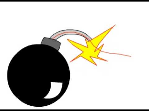 Animasi Bom Youtube