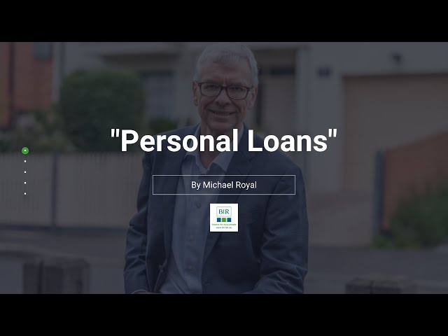 Personal Loans | BIR Solutions