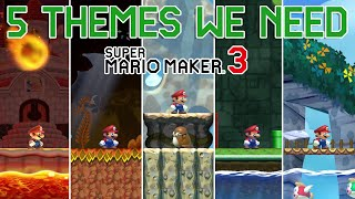 5 Themes We Need for Super Mario Maker 3
