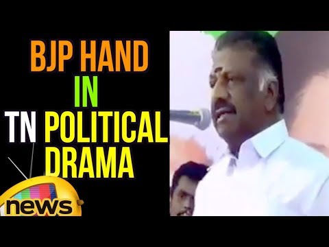 OPS Confirms BJP Hand In TN political Drama | Reveals He Became Deputy CM On PM Modi's Insistence