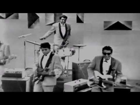 Crazy Rockers  -  Mama Papa Twist (early sixties rock 'n roll / indo rock) live tv show