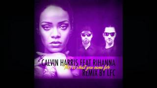 Скачать Calvin Harris Feat Rihanna This Is What You Came For LFC Pool House REMIX